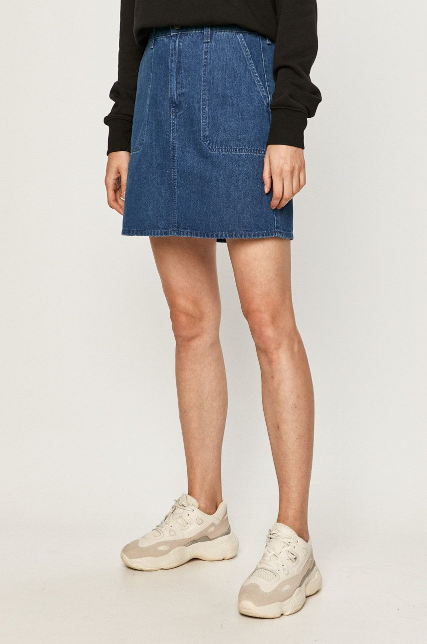 Lee - Fusta jeans answear.ro