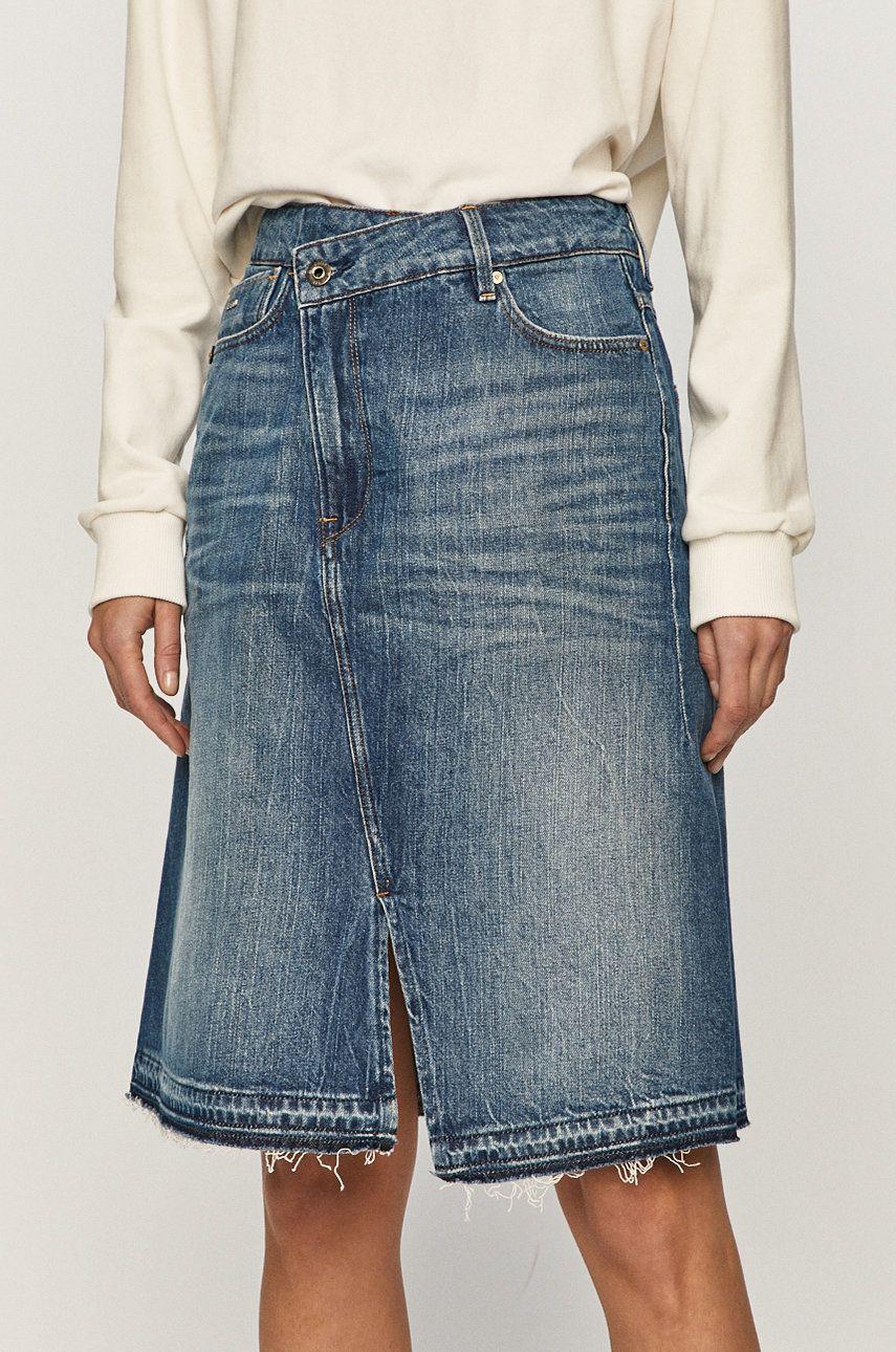 G-Star Raw - Fusta jeans imagine