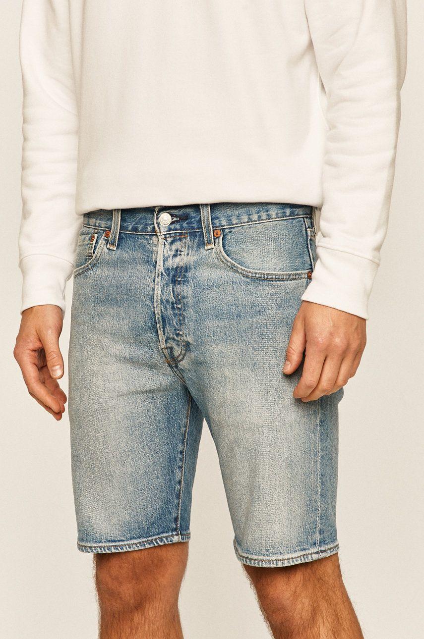 Levi's - Pantaloni scurti jeans 501 imagine 2020