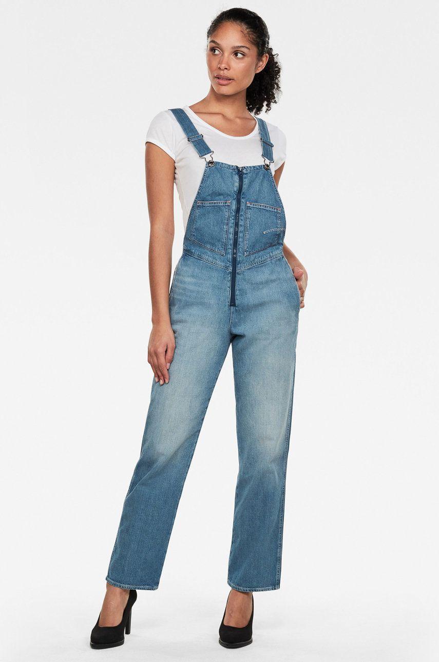 G-Star Raw - Salopeta jeans imagine