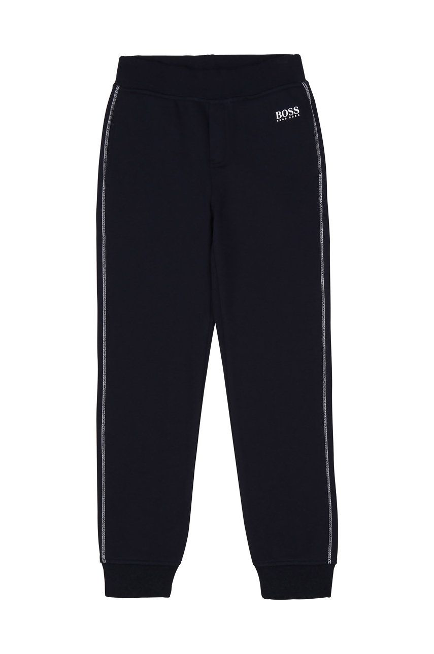 Boss - Pantaloni copii 164-176 cm imagine answear.ro