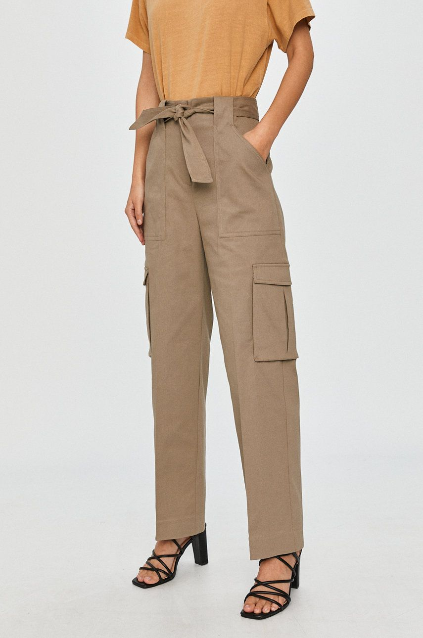 Pepe Jeans - Pantaloni Ashley imagine answear.ro