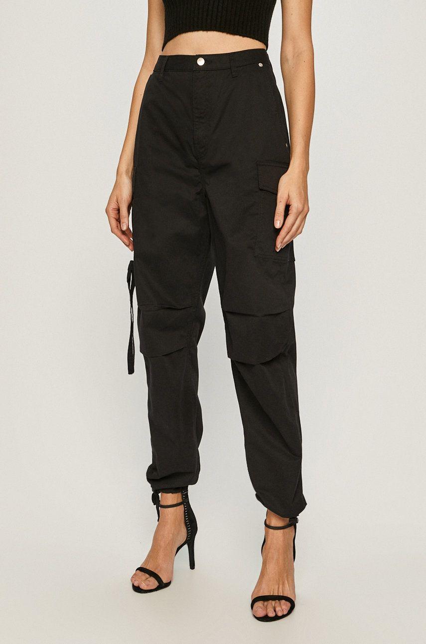 Pepe Jeans - Pantaloni Shadow x Dua Lipa imagine answear.ro