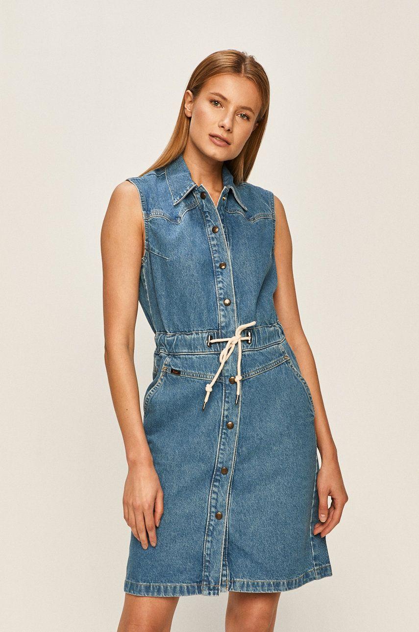 Lee - Rochie jeans