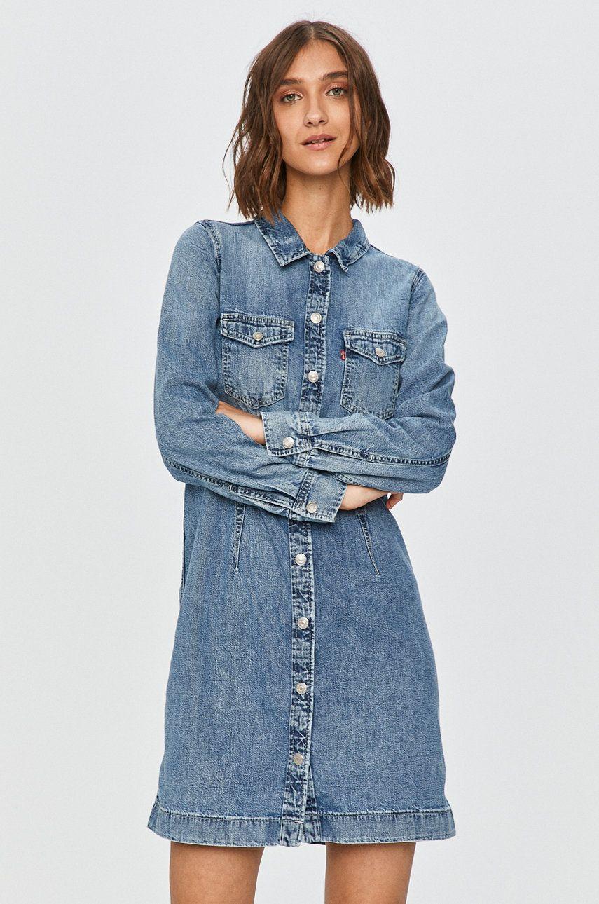 Levi's - Rochie jeans imagine