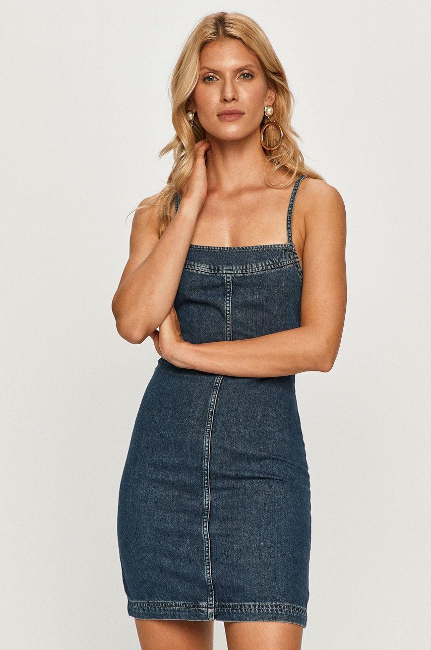 Pepe Jeans - Rochie jeans Elena