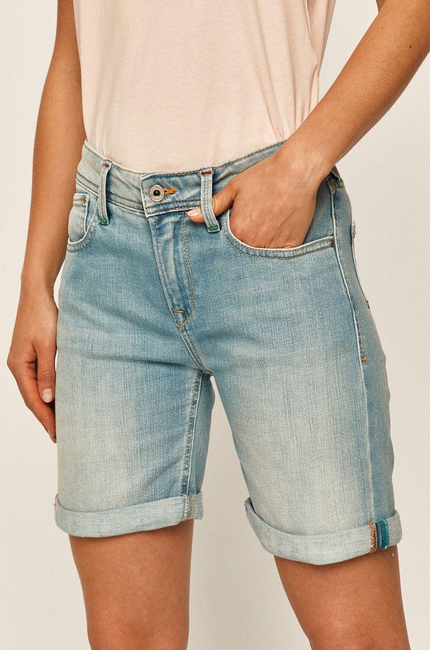 Pepe Jeans - Pantaloni scurti jeans Poppy Short Pride