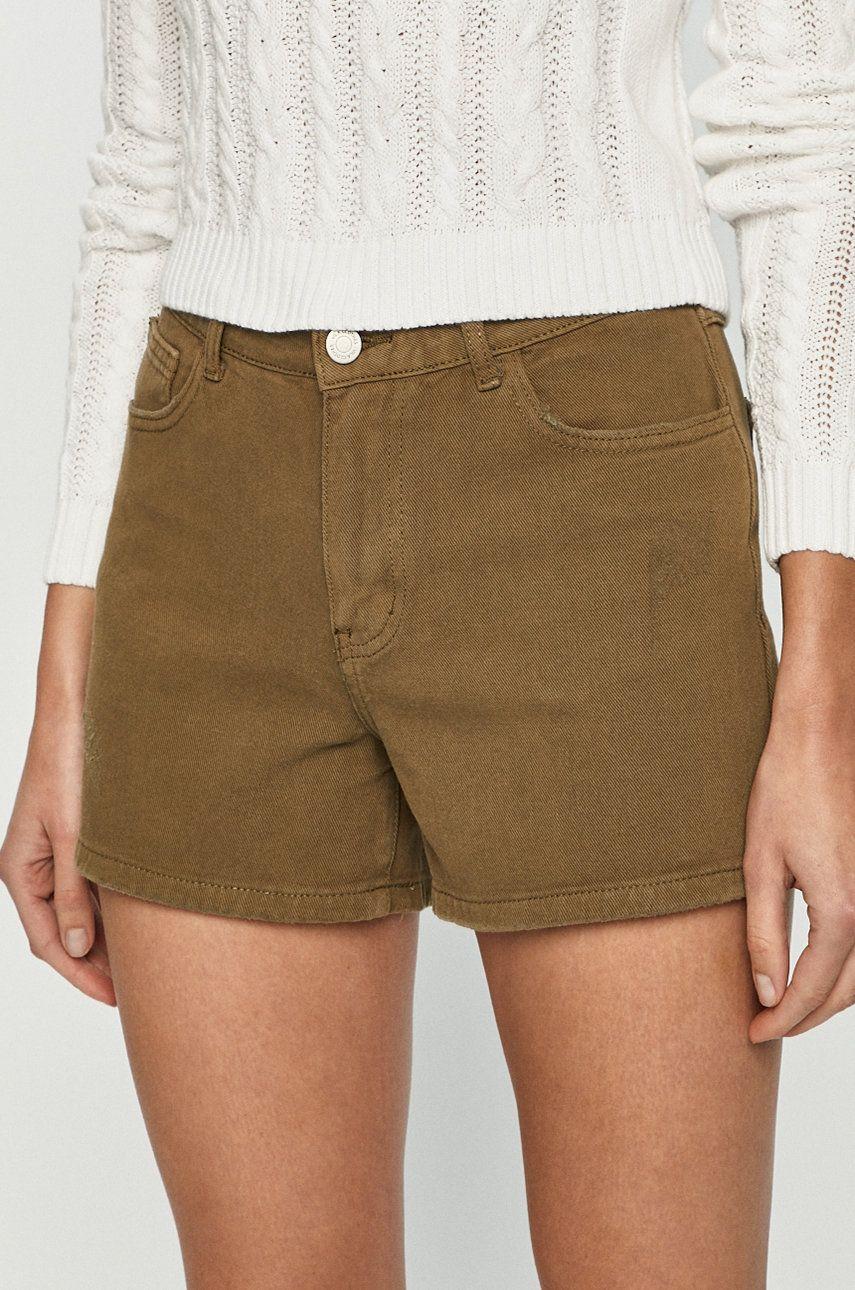 Vila - Pantaloni scurti jeans