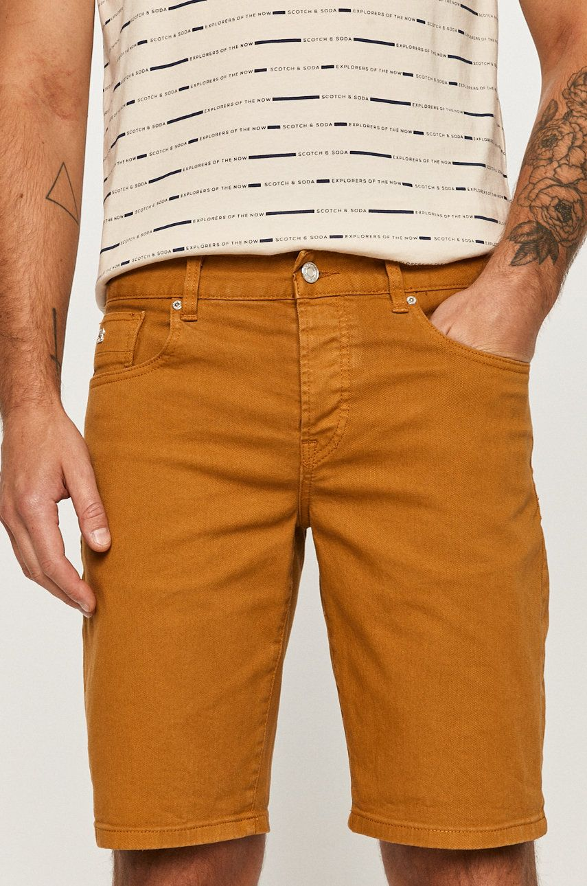 Scotch & Soda - Pantaloni scurti jeans imagine 2020