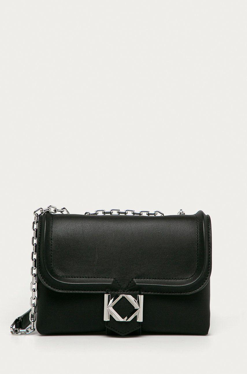 Karl Lagerfeld - Poseta de piele