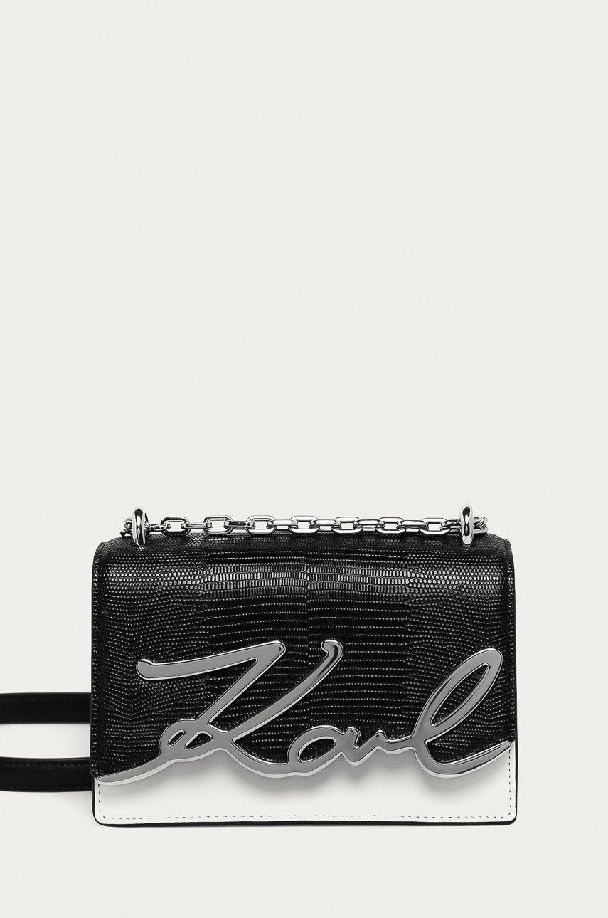 Karl Lagerfeld - Poseta de piele imagine