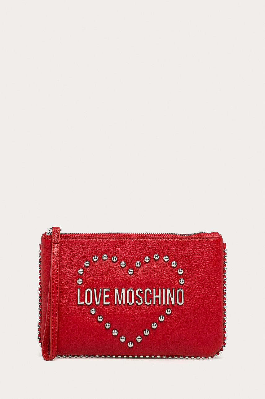 Love Moschino - Poseta de piele answear.ro