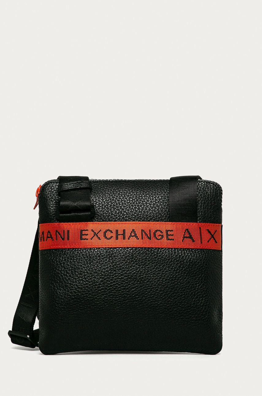 Armani Exchange - Borseta de piele