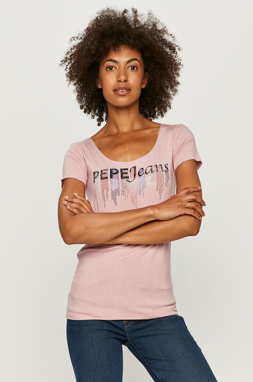Pepe Jeans - Tricou Abbey imagine