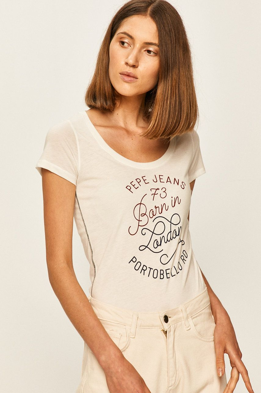 Pepe Jeans - Tricou Adalys