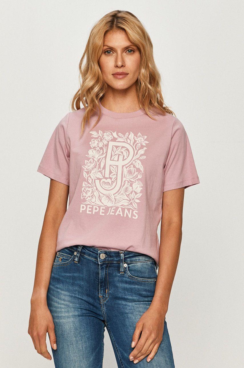 Pepe Jeans - Tricou Alissa