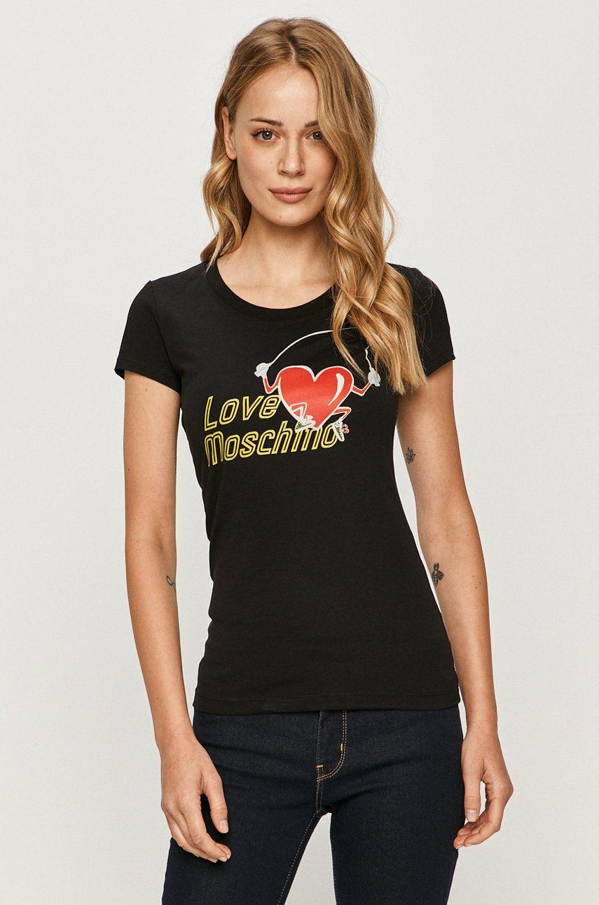 Love Moschino - Tricou answear.ro