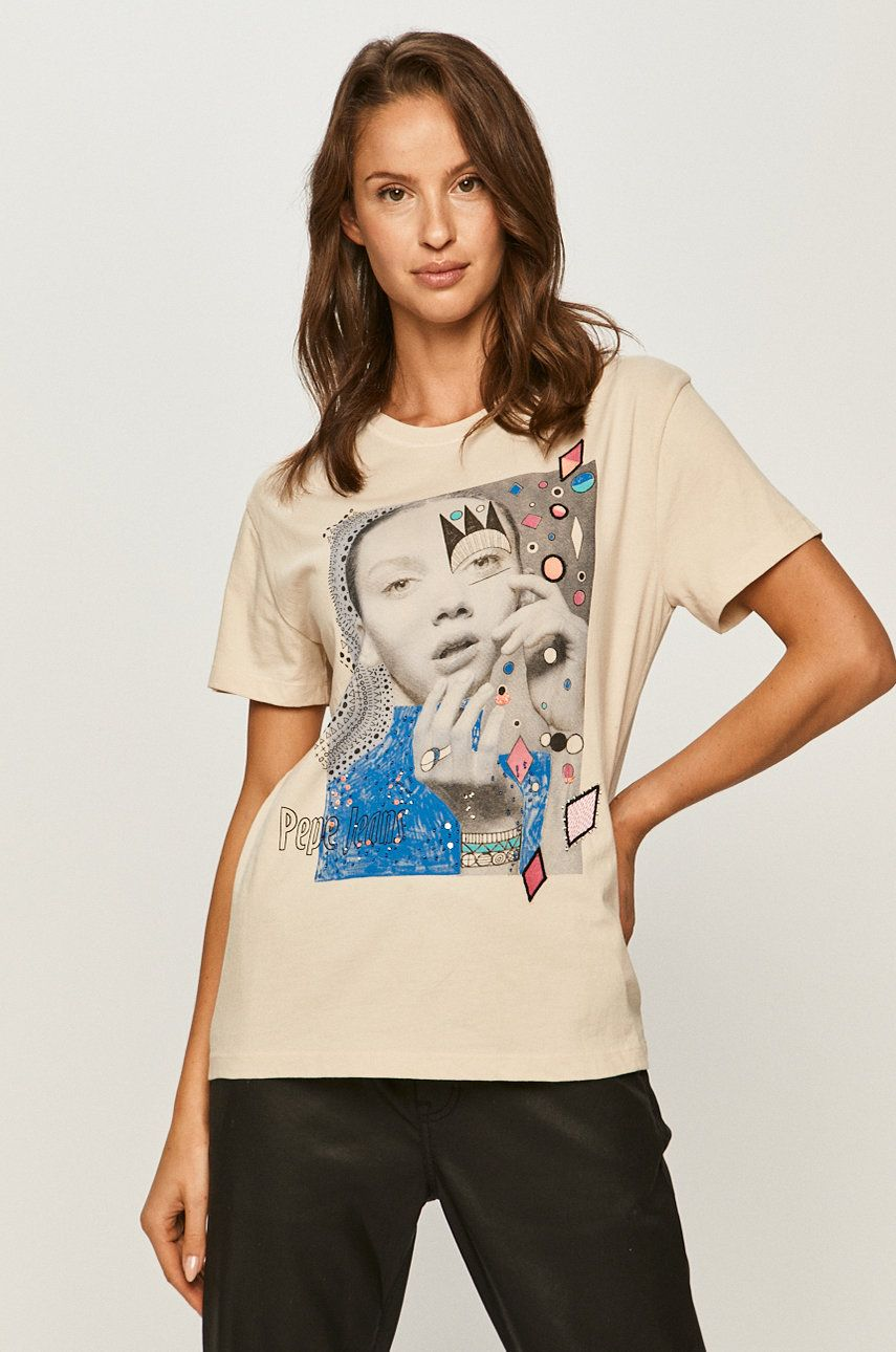 Pepe Jeans - Tricou Marion