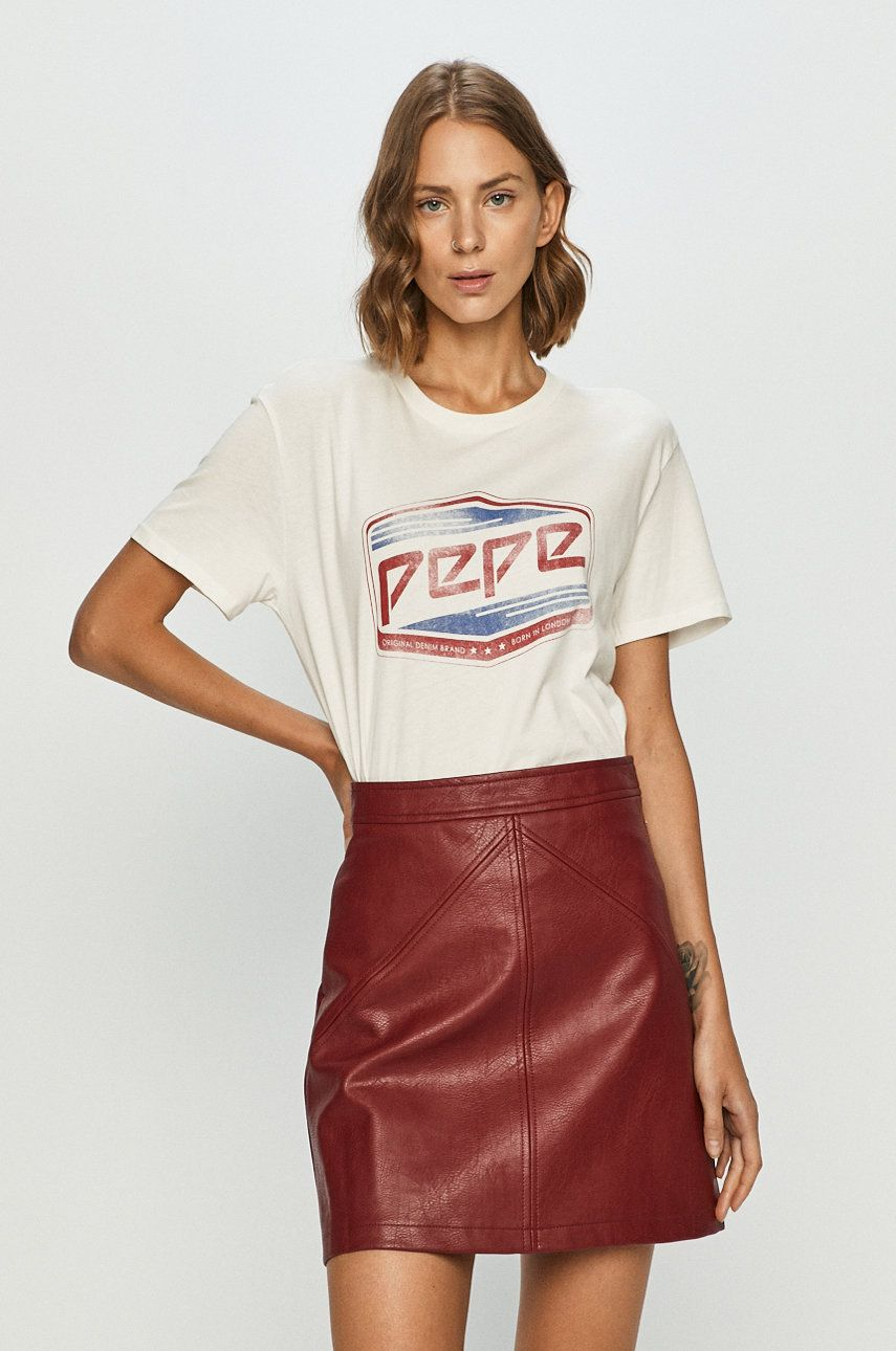 Pepe Jeans - Tricou Musette