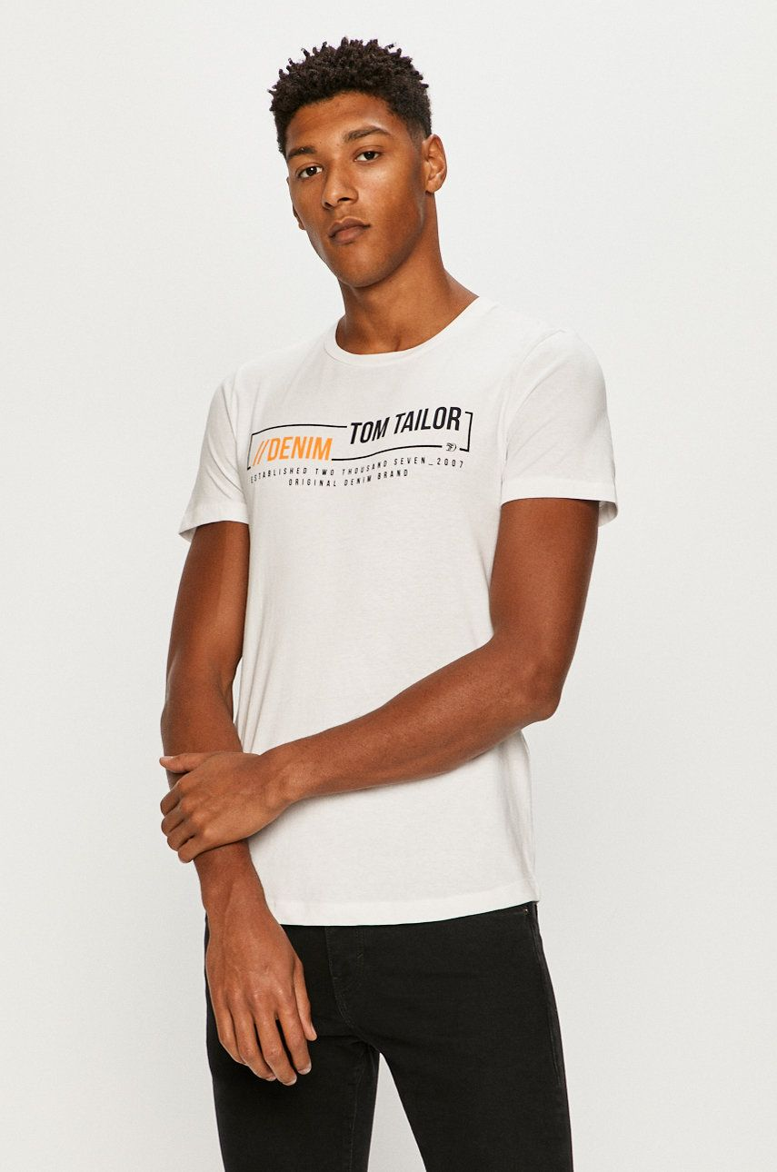 Tom Tailor Denim - Tricou imagine 2020