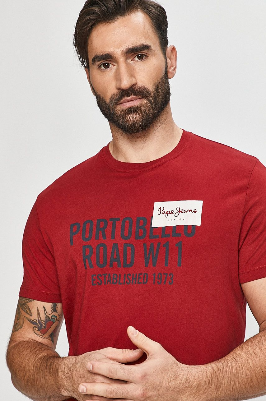 Pepe Jeans - Tricou Broderick imagine