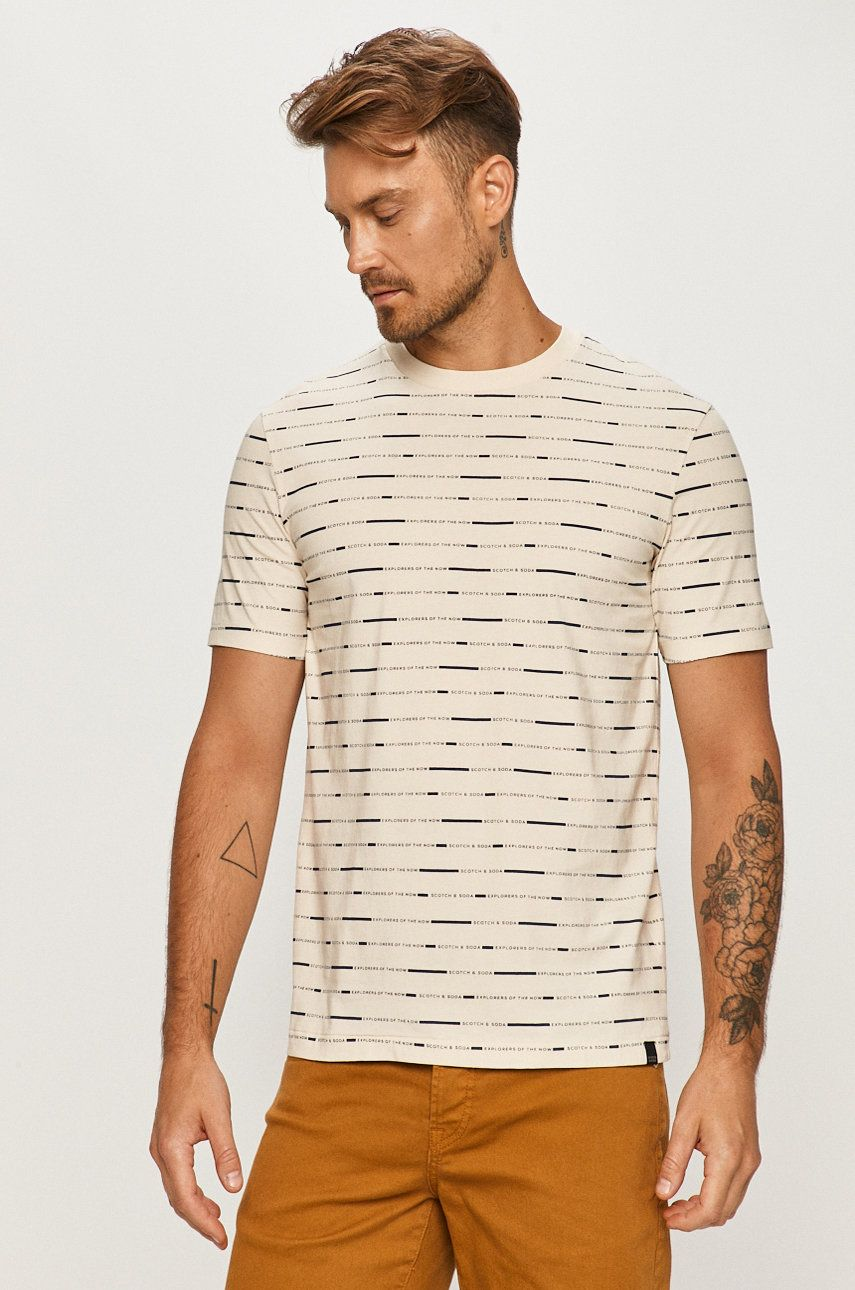 Scotch & Soda - Tricou imagine 2020