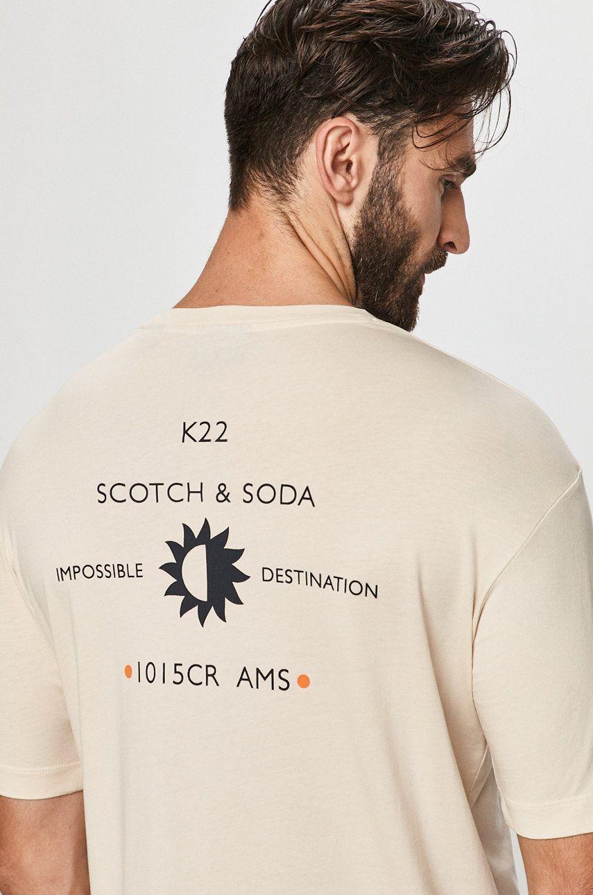 Scotch & Soda - Tricou imagine 2020