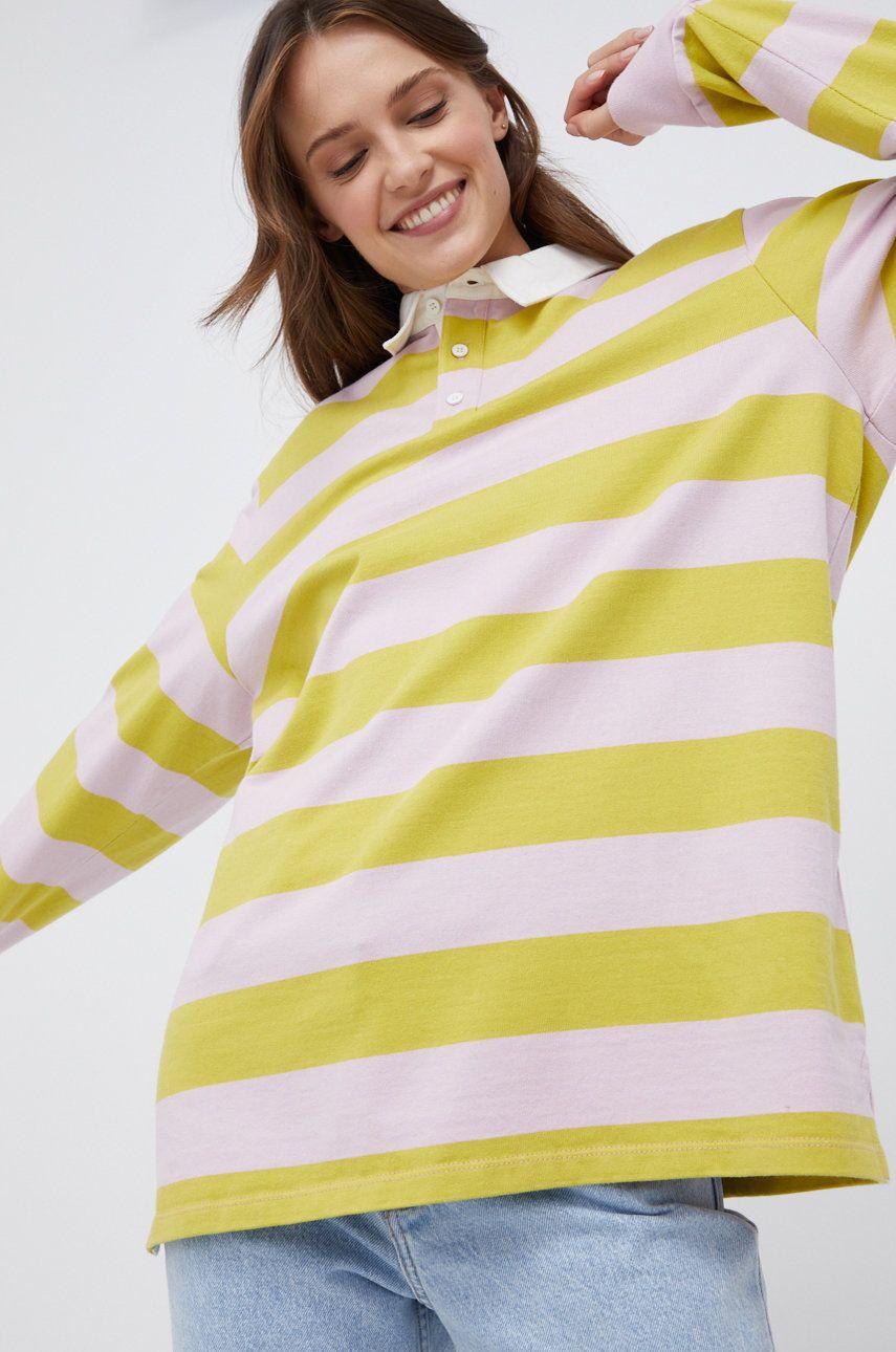 Levi's - Bavlnené tričko s dlhým rukávom