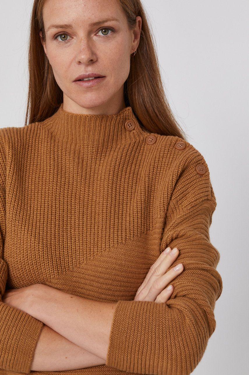 United Colors of Benetton - Pulover din amestec de lana