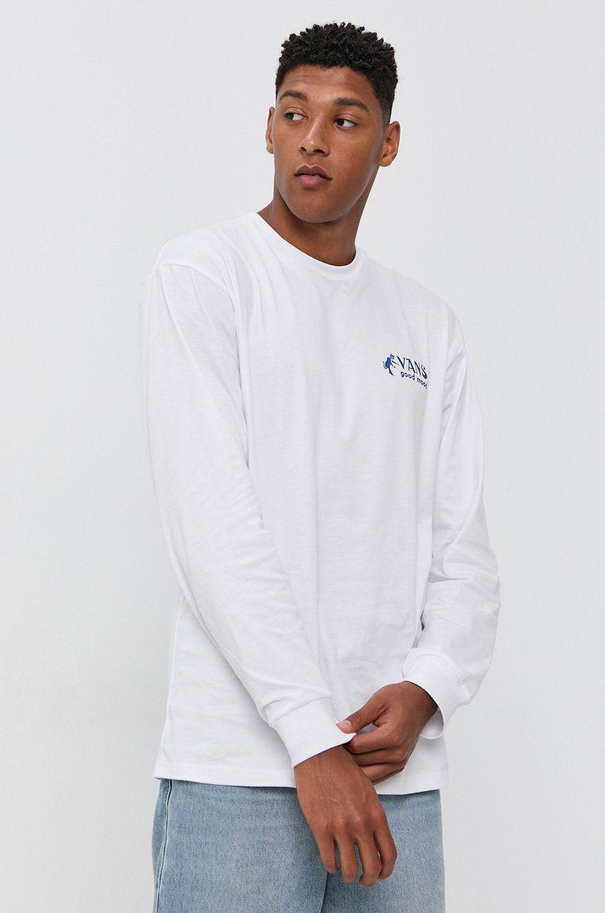 Vans - Bavlnené tričko s dlhým rukávom
