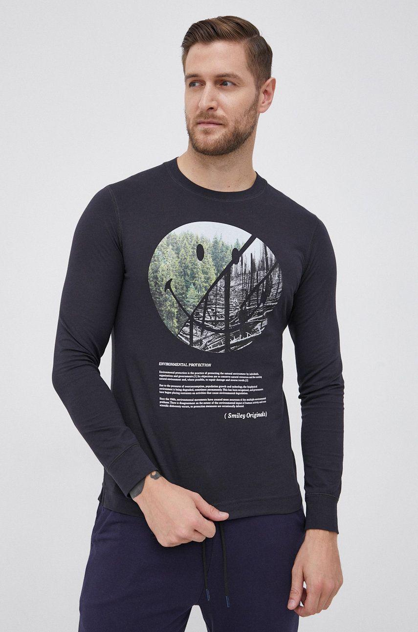 s.Oliver - Bavlnené tričko s dlhým rukávom