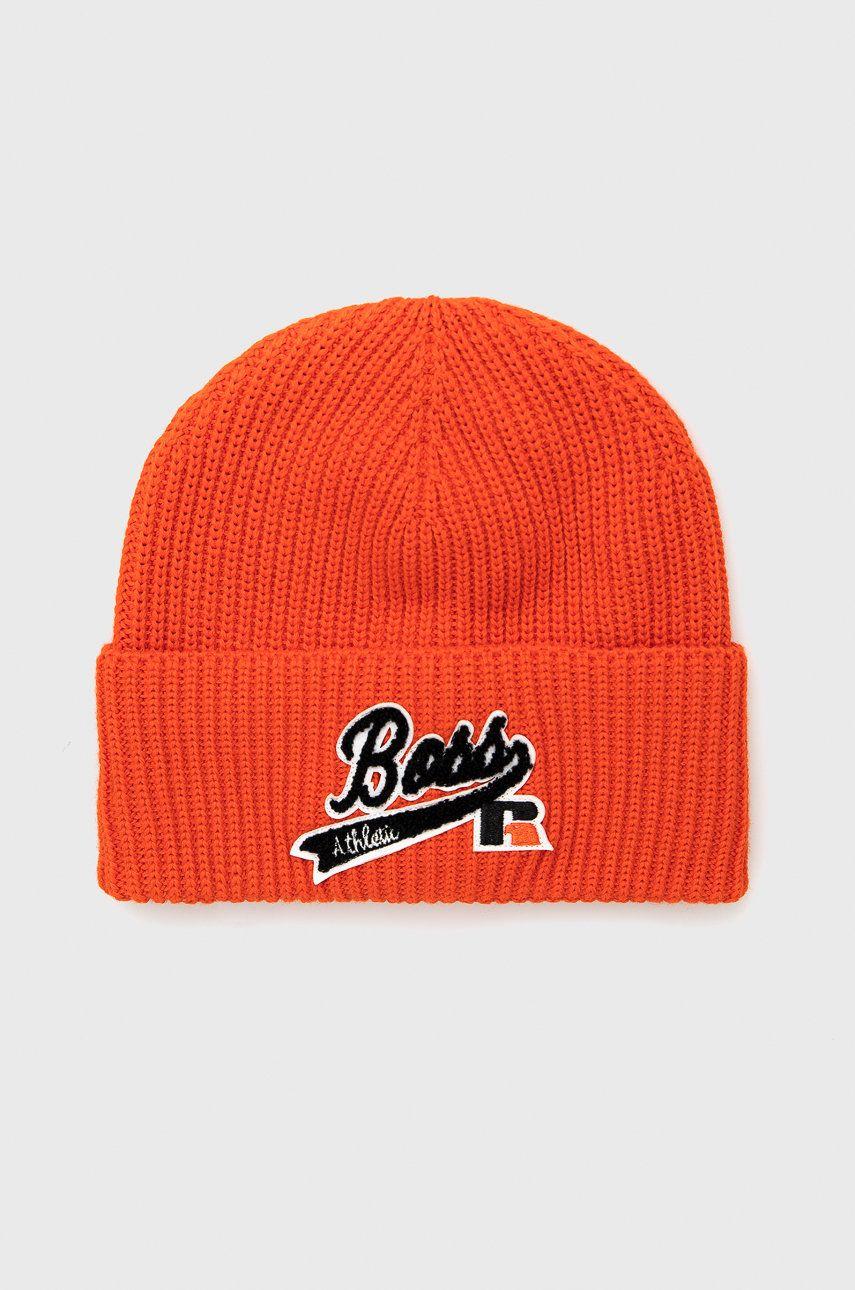 Boss - Caciula de lana Boss x Russel Athletic