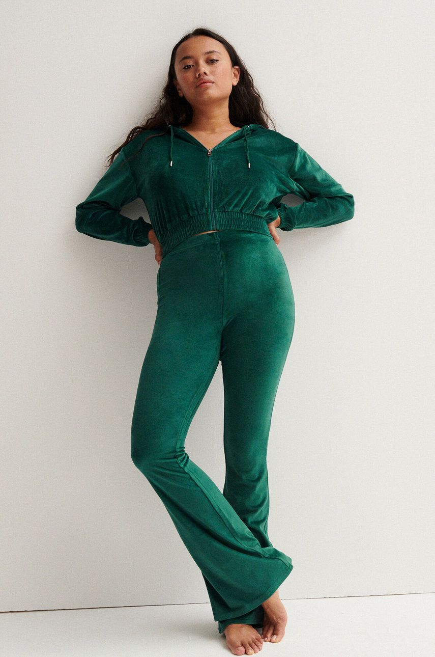 Undiz - Pantaloni Velouflariz
