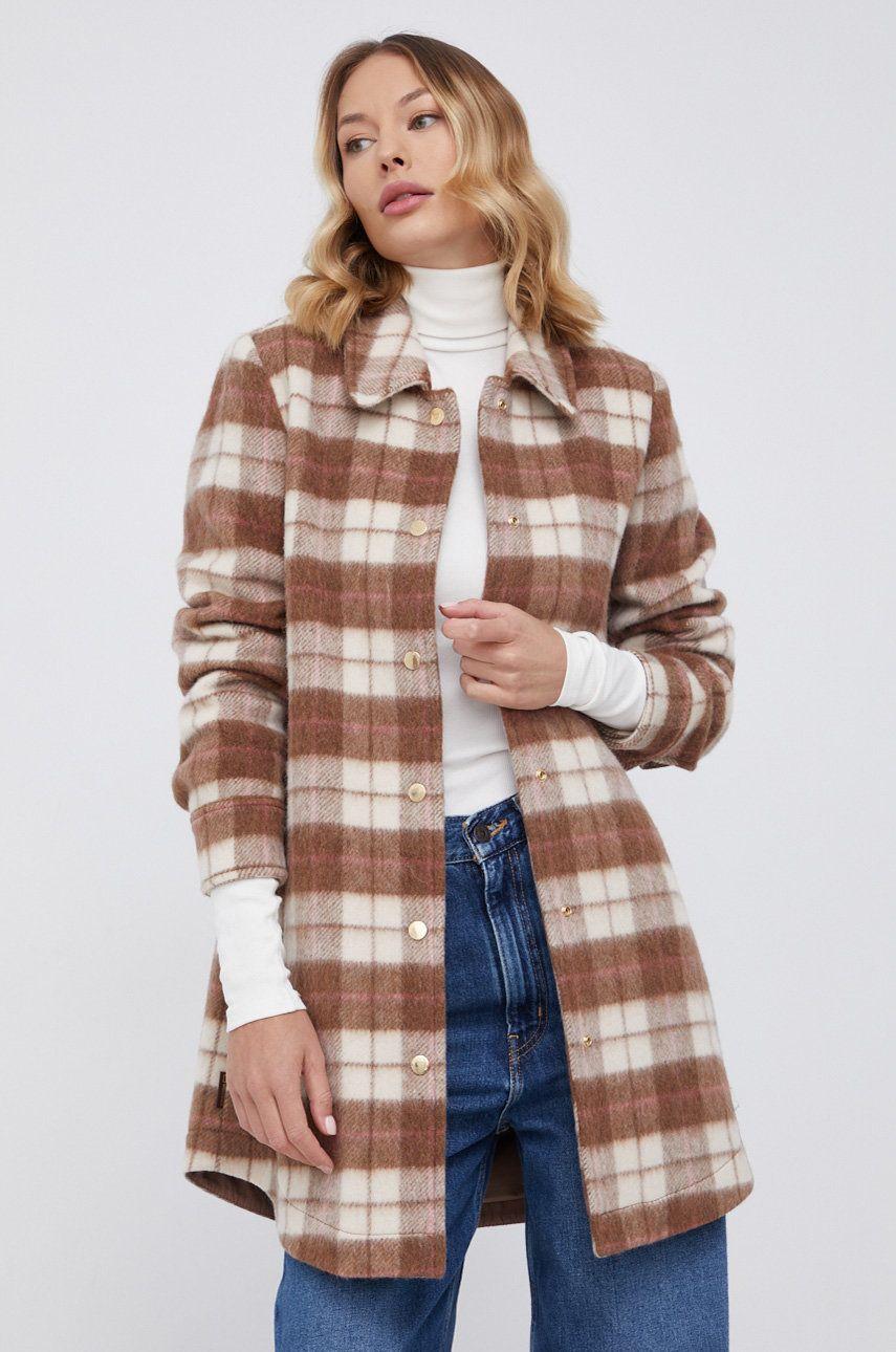 WOOLRICH - Palton de lana