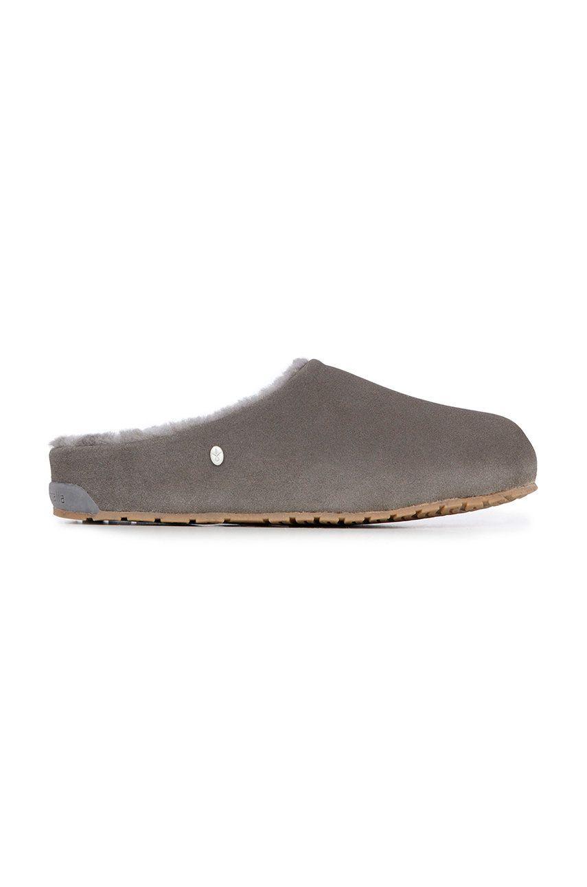 Emu Australia - Papuci din piele intoarsa Monch
