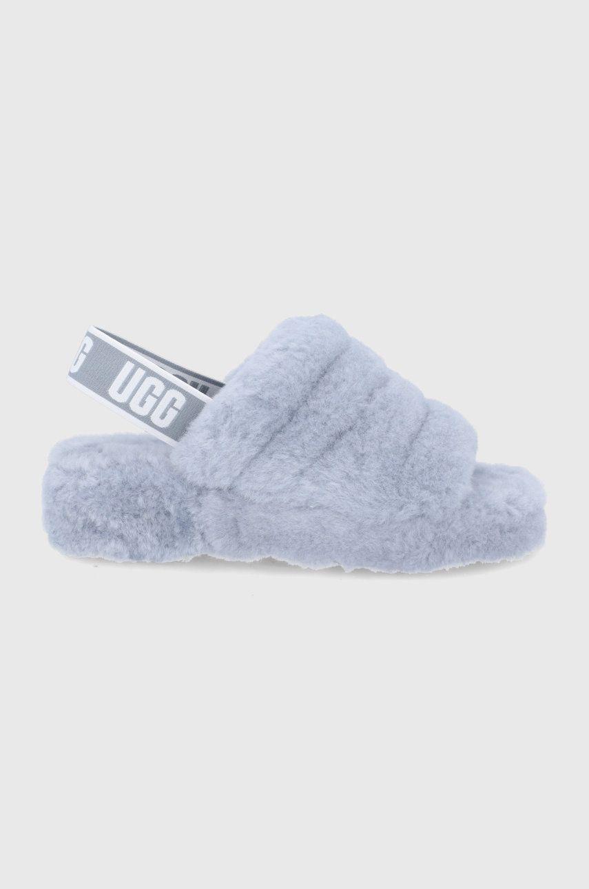 UGG - Papuci de lana Fluff Yeah Slide
