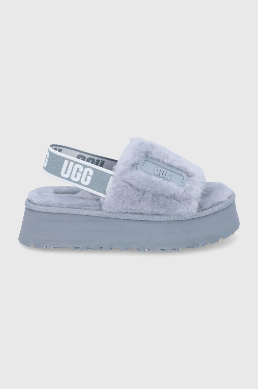 UGG - Papuci de lana Disco