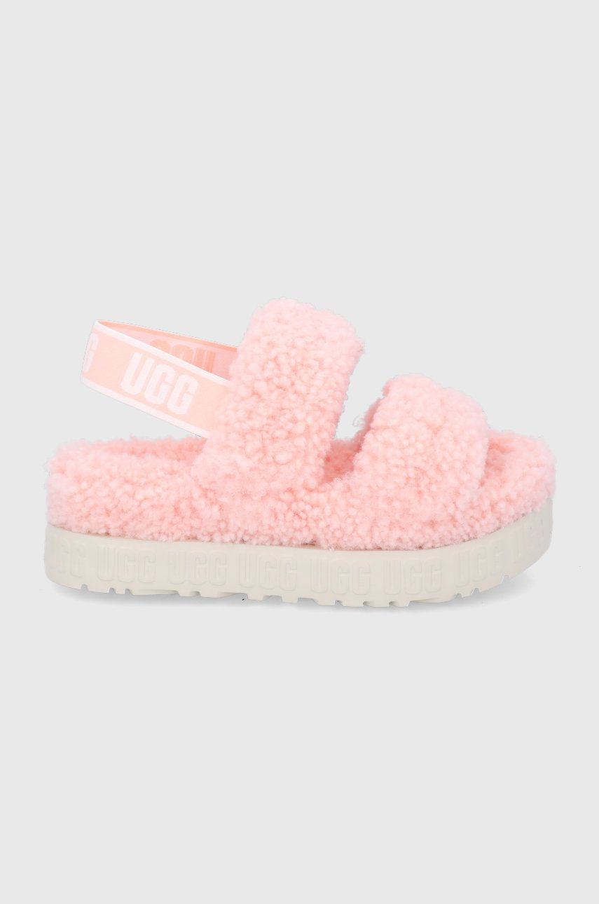 UGG - Papuci de casa Oh Fluffita