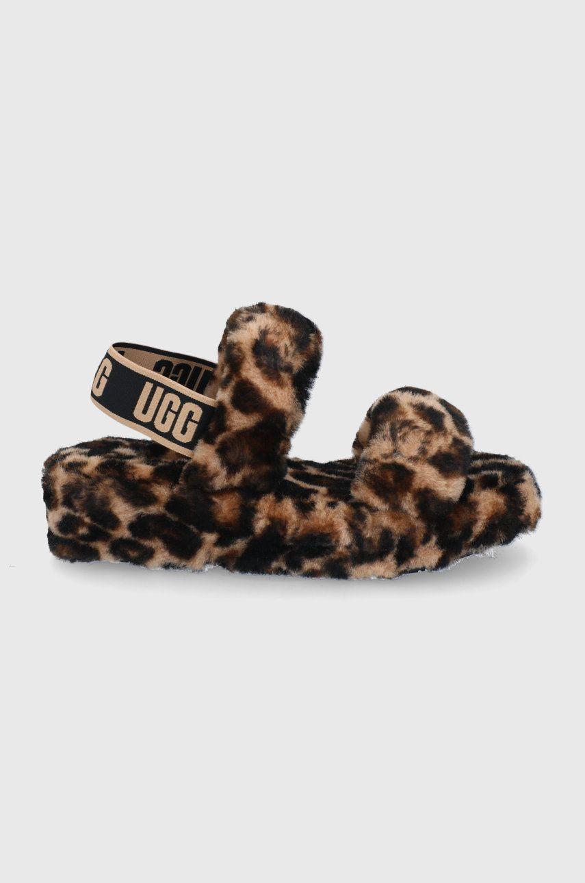 UGG - Papuci de lana Oh Yeah