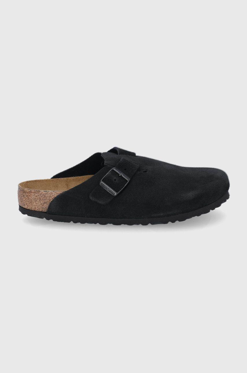 Birkenstock - Papuci din piele Boston BS