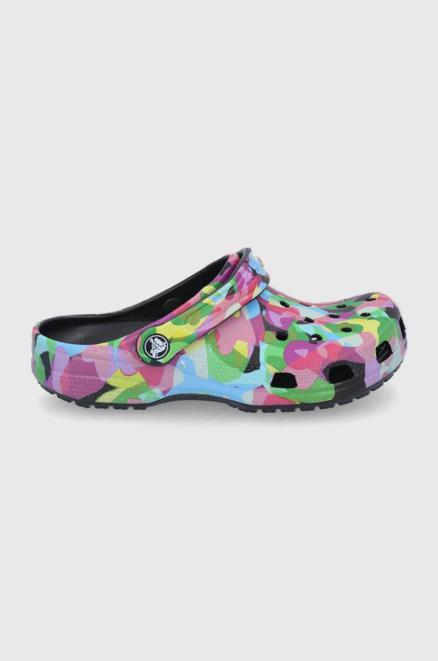 Crocs - Papuci Classic Bubble Block Clog