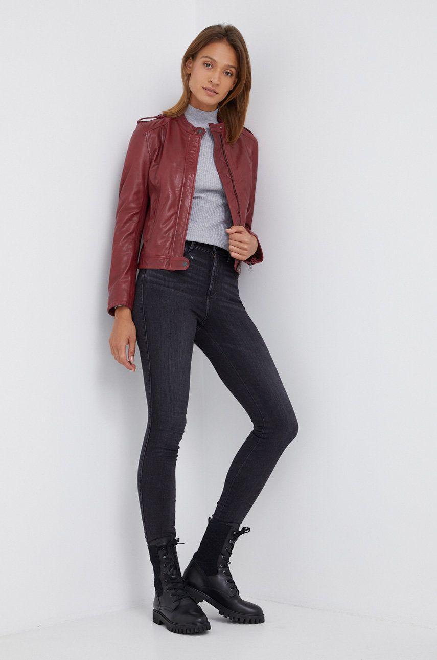 Pepe Jeans - Geaca de piele Danna