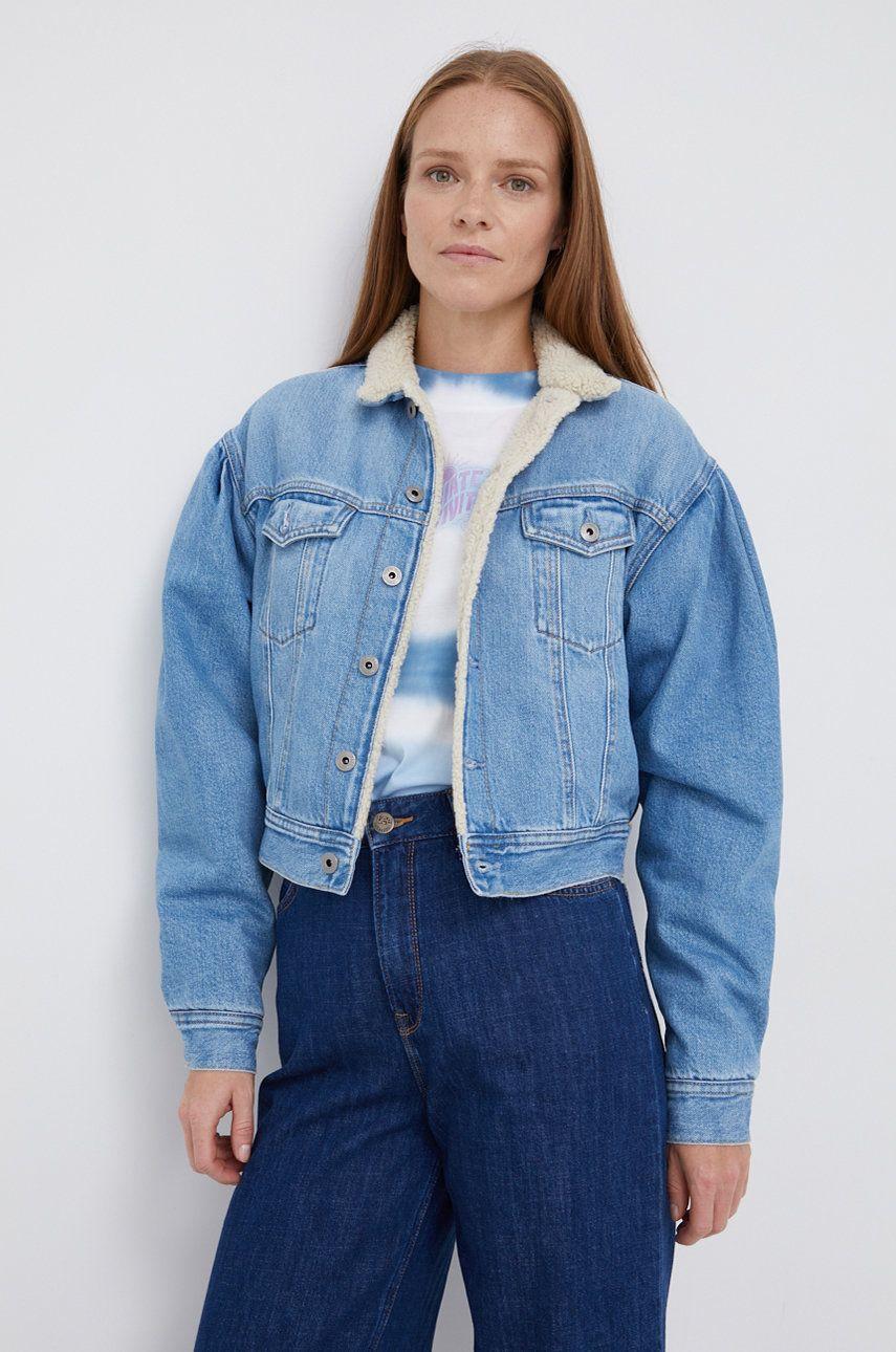 Pepe Jeans - Geaca jeans Ridge DLX