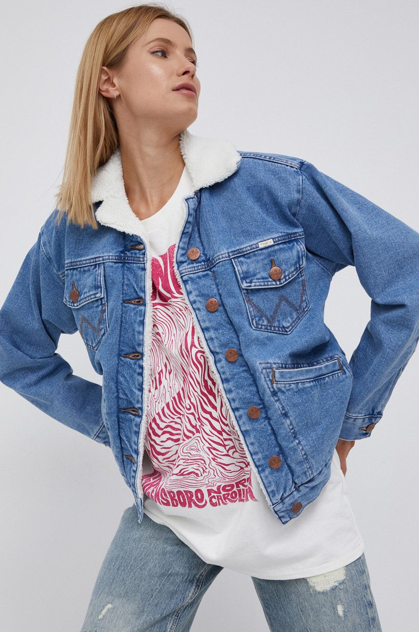 Billabong - Geaca jeans x Wrangler