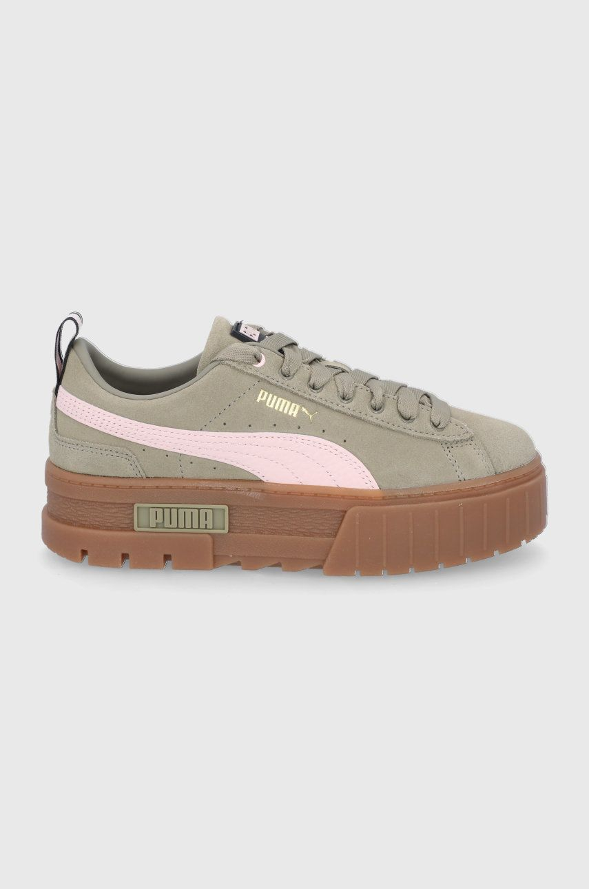 Puma - Pantofi de piele intoarsa Mayze Gum