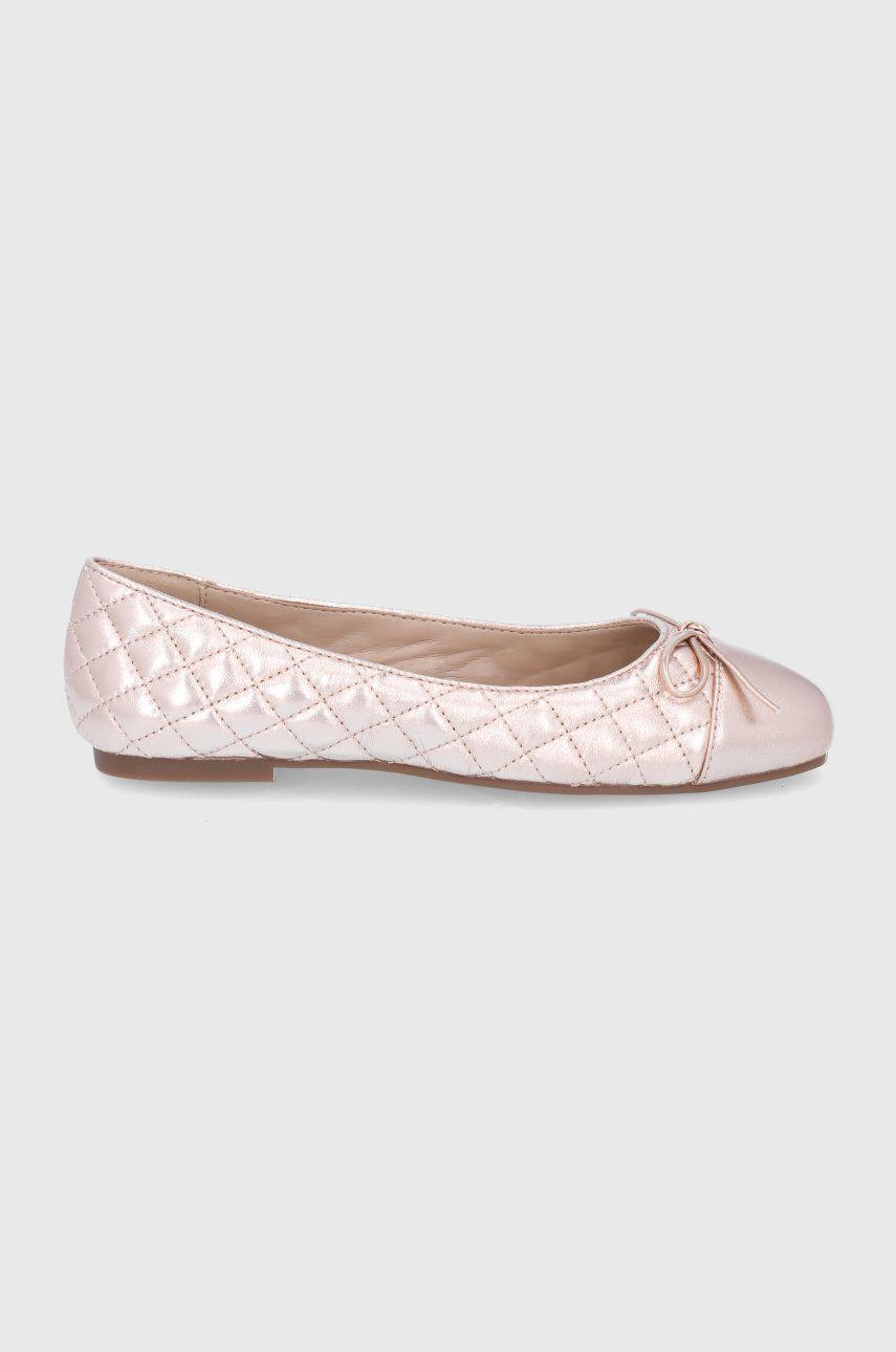 Balerini dama Aldo de piele Braylynn roz