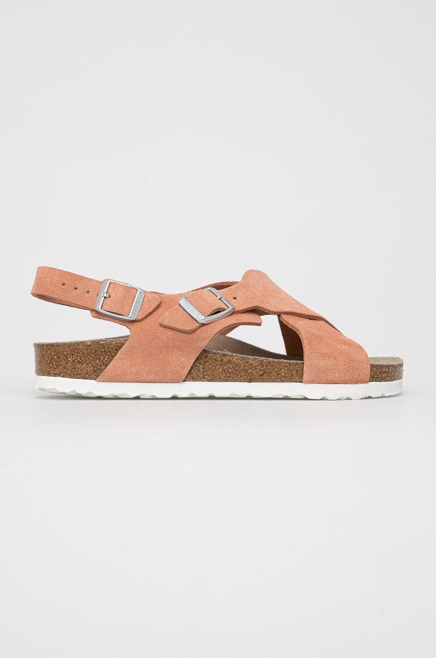 Birkenstock - Sandale de piele Tulum Coral
