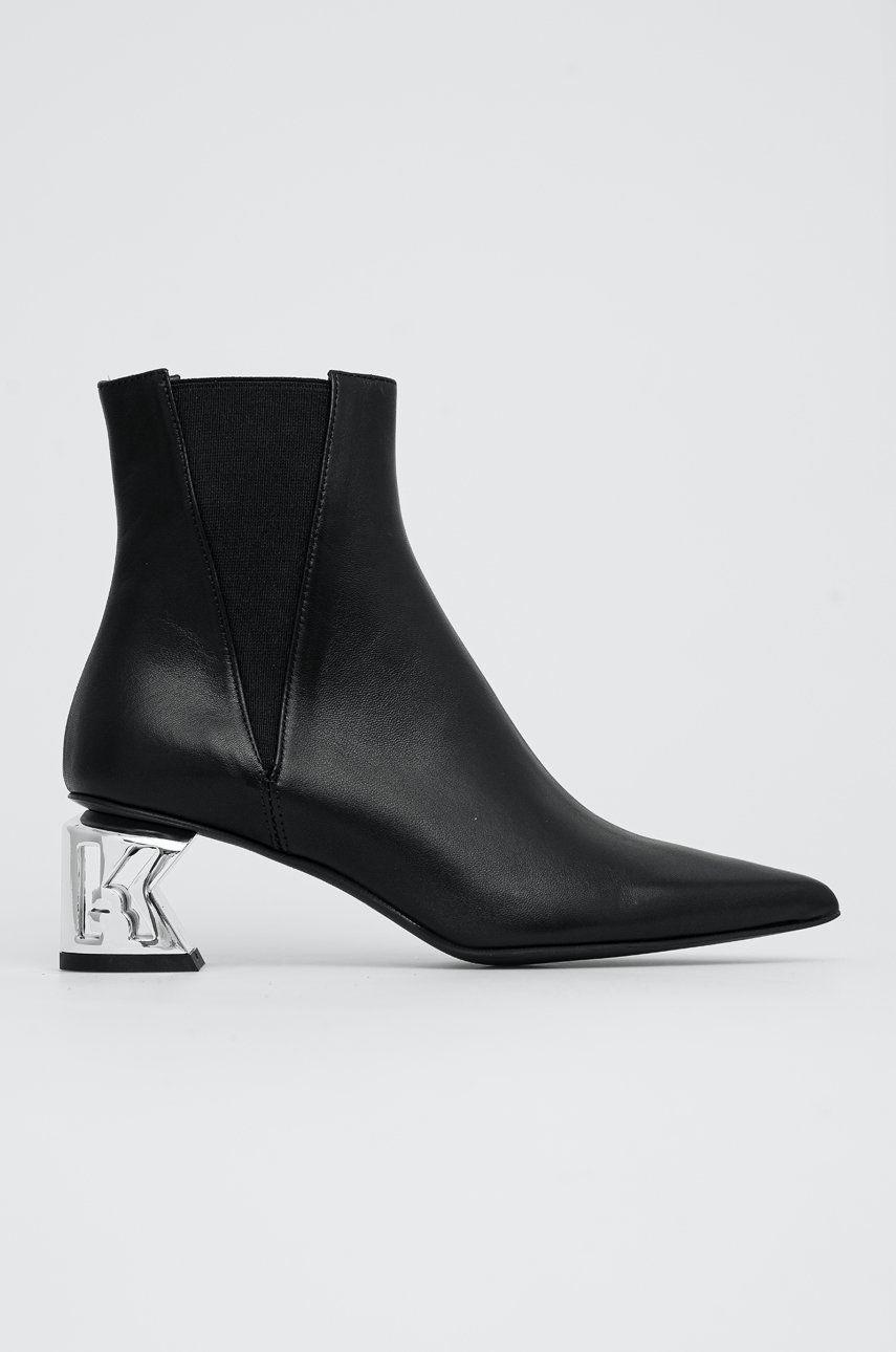 Karl Lagerfeld - Ghete Chelsea de piele