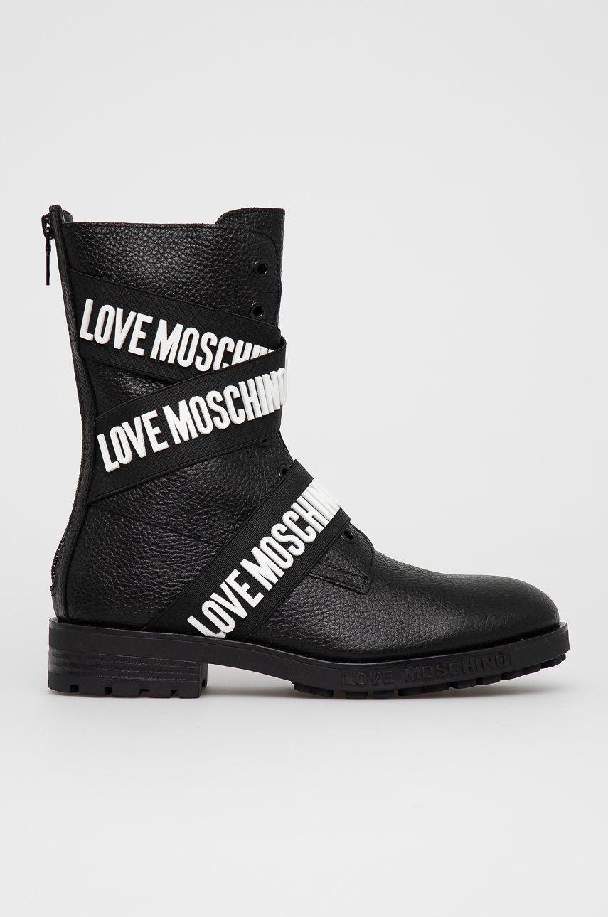 Love Moschino - Cizme de piele