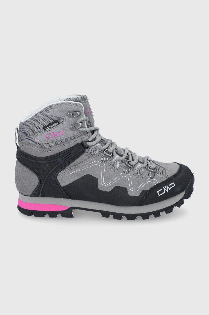 CMP - Pantofi de piele intoarsa Athunis Mid WMN